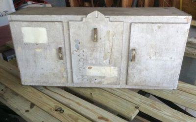 Art Deco kitchen cabinet