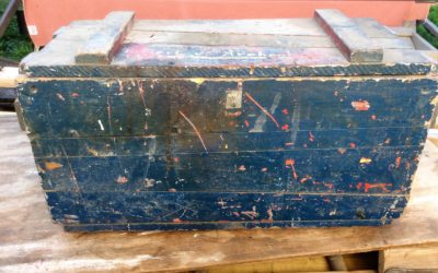 Antique Homemade Tool Box
