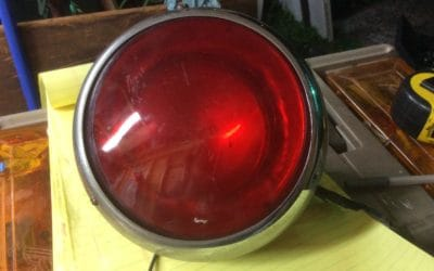 Antique Emergency Vehicle Rotating Light