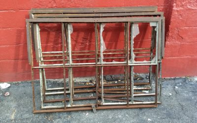 Large metal Industrial Factory Casement Windows
