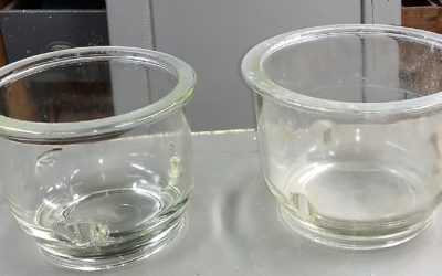 Pyrex Glass Vessels from a science lab in upstate New York